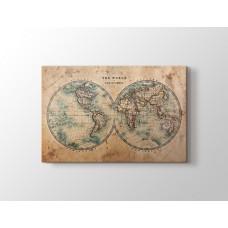 Eskitilmiş Dünya Haritası