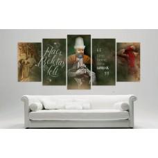 Yeni Yeni Haci Bektasi Veli Temali Kanvas Tablo Model1,kanvas tablo,uygun fiyatlarla