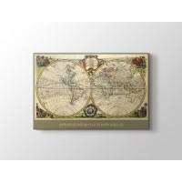 Eski Dünya Haritası 1762