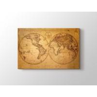 Eski Dünya Haritası 1793