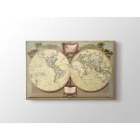Eski Dünya Haritası 1808