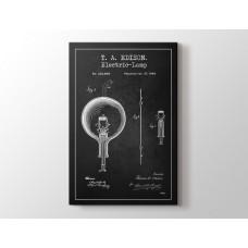 Thomas Edison Electric Lamp Patent