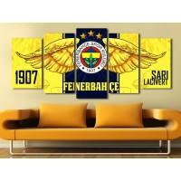 Fenerbahçe Temalı Kanvas Tablo