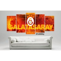 Yeni Yeni Galatasaray Aslan 1905 Temali Kanvas Tablo Model1