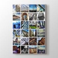 24 fotoğraftan dikey mozaik tablo