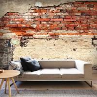 3D Efekt Eskitme Duvar tuğlalar Duvar Kağıdı