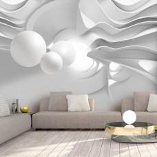 3D Efekt Soyut Nesneler 3 Boyutlu Duvar Kağıdı