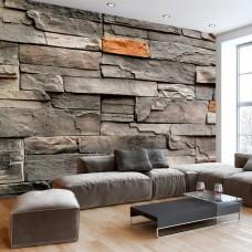 3D Efekt Taş Duvarlar Duvar Kağıdı