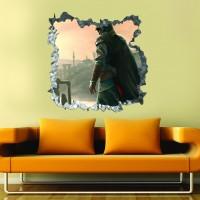 Cocuk Odası 3d Duvar Stickerı 04