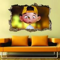 Cocuk Odası 3d Duvar Stickerı