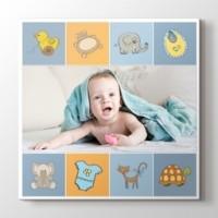 Erkek bebek için fotoğrafından