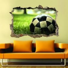 Futbol Topu 3d Duvar Stickerı