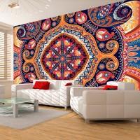 Mandala Temalı Duvar Kagıdı Modeli