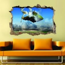 Manzara 3d Duvar Stickerı 03