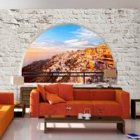 Şehir Manzaralı Duvar Kagıdı Modeli