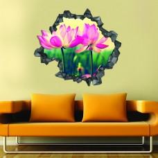 Çiçek 3d Duvar Stickerı