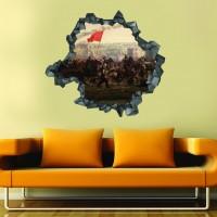 İstanbulun Fethi 3D Duvar Stickerı 02