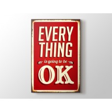 Everything Ok Kanvas tablo