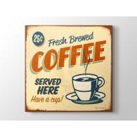 Vintage Kahveci Afişi
